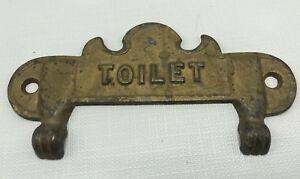 Antique Toilet Paper Holder Vintage Art Deco Bath Victorian Toilet Tissue