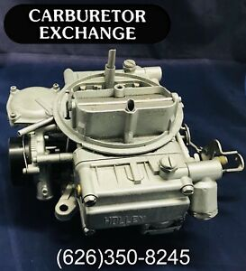 1975 1978 Ford Pickup Truck Remanufactured Holley 4 Barrel Carburetor V8