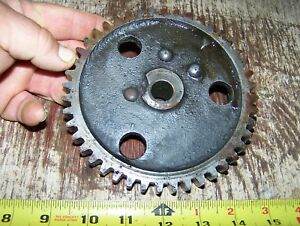 Old 1 1 2 2hp Hercules Economy Hit Miss Gas Engine Motor Cam Gear Steam Oiler