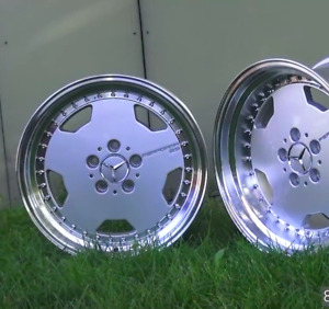 Mercedes R107 W116 W126 W124 R129 W201 Repro Staggered Amg One Piece Oz Wheels
