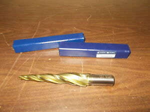 Conical Tool Company E 424 5 0 Hss Tapered End Mill 3 Flute New