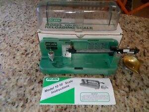 RCBS Model 10-10 Reloading Scale Excellent Condition