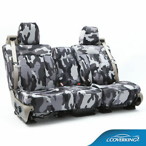 Coverking Neosupreme Traditional Camo Seat Covers For 2016 2018 Toyota Tacoma