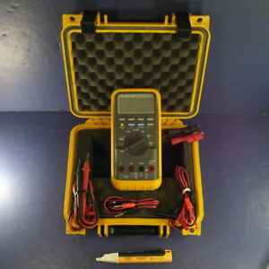 Fluke 88 Automotive Meter Excellent Screen Protector Hard Case