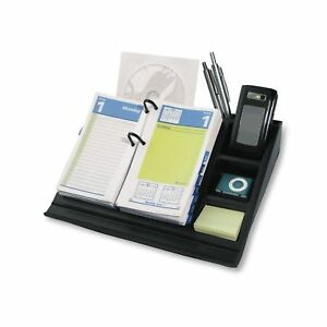 At a glance 17 style Desk Calendar Base And Organizer 10 5 X 8 Inches j17 00