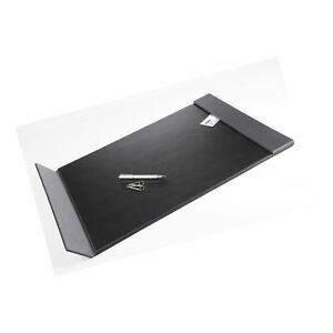 Artistic 24 X 19 Monticello Executive Leather like Desk Pad With Side Rails