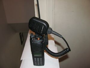 Motorola Xts3000 P25 Digital Model Iii 800mhz Radio With Des xl Dvp xl