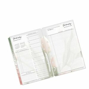 Classic Blooms Daily Ring bound Planner Jan 2019 Dec 2019