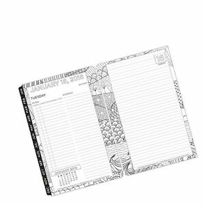 Classic Living Color Daily Ring bound Planner Jan 2018 Dec 2018