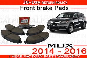 Genuine Oem Acura Mdx Front Brake Pad Set 2014 2016 45022 tz5 a01