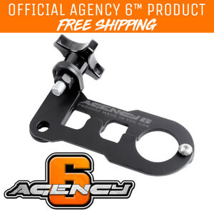 Agency 6 Jack Handle Keeper Lock For Hi lift Jacks Black Powder Coat Finish