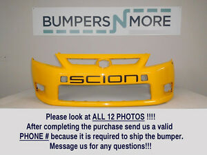 Oem 2011 2012 2013 Scion Tc Coupe Base Front Bumper Cover