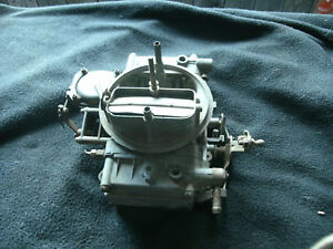 Holley Carburetor 4 Bl Core 2468203 List 2929 Metering Plate 4218
