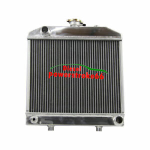 2 Row Aluminium Radiator For Ford New Holland Nh 1000 1500 1600 1700 Tractor