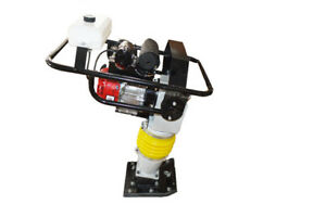 New 5 5hp Gas Powertamping Rammer Compactor Jumping Jack