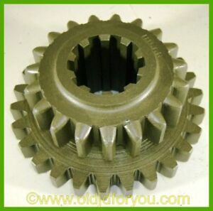 H156r John Deere H High And Intermediate Pinion Gear 2nd 3rd Speed Cluster
