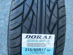 4 New 215 65r17 Inch Doral Tires 2156517 215 65 17 65r R17