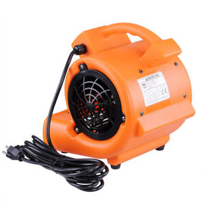 1400rpm Air Mover Blower Carpet Dryer 349cfm Floor Drying Industrial Fan Ce