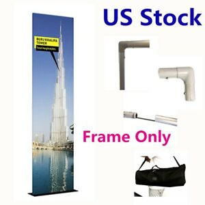 2ft Exhibition Booth Tension Fabric Display frame Only 25mm Aluminum Tube