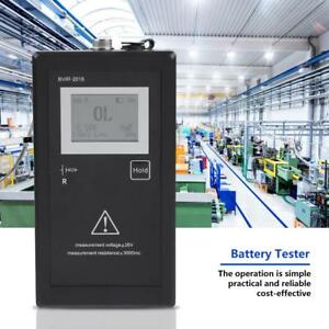 New Bvir 2018 Rechargeable Battery Internal Resistance Voltage Tester test Leads