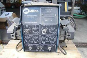 Miller Dual Operator Mig Constant Speed Wire Feeder 24v D 64