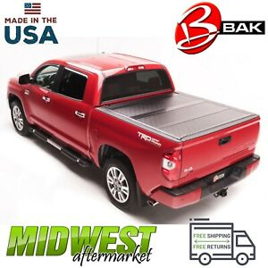 Bakflip G2 Trifold Tonneau Cover For 07 19 Toyota Tundra W Track Rail System 8