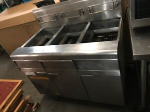 Frymaster 3 Bay Deep Fryer