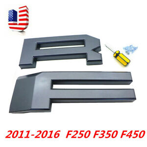 F R Grille Letters Replace Fit For Raptor Style Grill 11 16 Ford F250 F350 F450