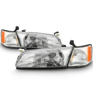 For 97 99 Toyota Camry Factory Style Replacement Headlight Assembly Left Right