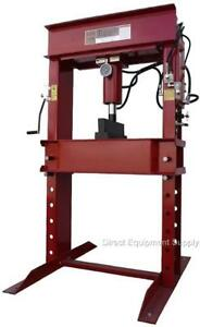 100 Ton Air hydraulic H frame Shop Press Usa 150 50