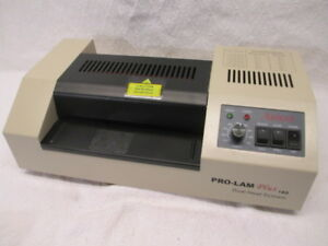 Akiles Prolam Plus 160 Pouch Laminator Machine 6 3 inch Hot Cold Very Good