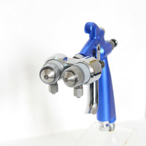 Spray Gun Paint Air Compressor Airbrush Hvlp Spray Airbrush Double Nozzle 1 2mm