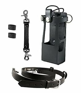 Boston Leather Bundle Three Items Anti sway Strap For Radio Strap Firefighters