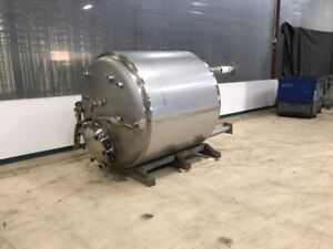 Mueller 750 Gallon Stainless Steel Tank Vessel Rated 45 Psi