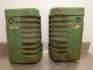 John Deere Styled A Tractor Front Grilles Aa2238r Aa2239r 12961