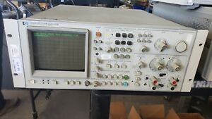 Hp Agilent 3582a Dual Channel Spectrum Analyzer 0 02hz To 25 5 Khz