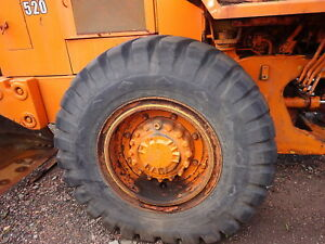 Caterpillar 916 Wheel Loader Tire Rim 17 5 25 4 Avail Good Tread Cat