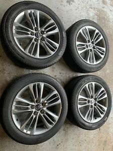 15 16 17 Camry Wheel 17x7 Alloy 15 Spoke Gray Oem 75171 Tires Bridgestone