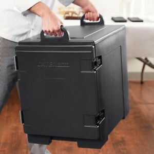Insulated Catering Hot Cold Chafing Dish Food Pan Carrier Box Commercial Full Sz