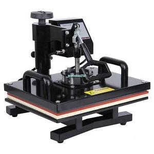 Digital Transfer Sublimation 15 X 12 Heat Press Machine Diy T shirt Swing Away