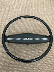 1969 72 Chevrolet Camaro Ss Chevelle Ss Nova Ss Black Steering Wheel Mint