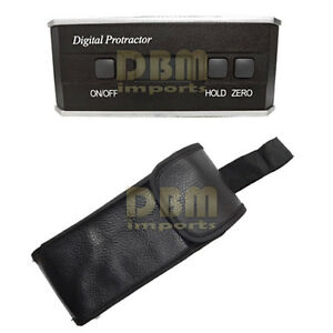 Digital Level 360 Degrees Protractor Angle Finder Inclinometer Lcd