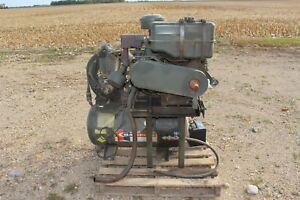 Champion Air Compressor With Lister St1 Diesel Engine