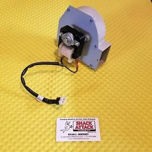 Crane National 673 946 Ap Coffee Vending Machine Blower Motor W Cable New