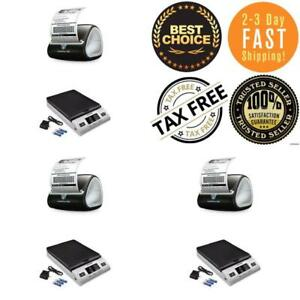 Label Printer Machine Mail Dymo Thermal Postage Barcode Receipt 2 Rolls Tool Usa
