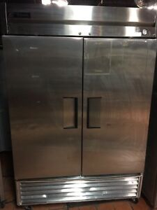 True T 49f Commercial 2 Door Freezer Stainless Steel