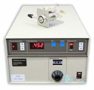 Perkin Elmer Lc 95 Uv visible Spectrophotometer Detector W Injector And Cable