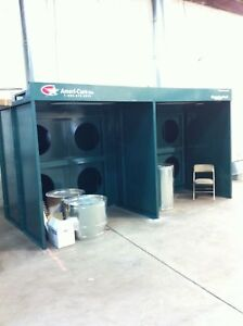 Paint Booth Ameri cure Powerflo Series Master Prep Pro Ii Dual Open Face