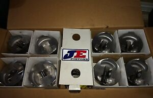 Je Forged Pistons For 540 Chevy Bbc 4 500 Bore 6 535 Rod 4 250 Stroke