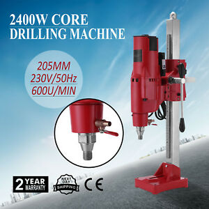 8 Diamond Core Drill Drilling Machine 3980w Rig Motor Water Dry Driller On Sale